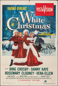 "Movie Posters:Musical, White Christmas (Paramount, 1954). Folded, Fine. One Sheet (28"" X 42""). Musical.. ..."