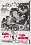 "Movie Posters:Foreign, Two Women (Embassy, 1961). Folded, Very Fine+. One Sheet (27"" X 41""). Foreign.. ..."