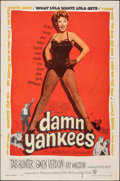 "Movie Posters:Musical, Damn Yankees! (Warner Bros., 1958). Folded, Fine+. One Sheet (27"" X 41""). Musical.. ..."