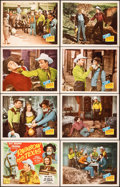 """Movie Posters:Western, Rainbow Over Texas (Republic, 1946). Very Fine+. Lobby Card Set of 8 (11"""" X 14""""). Western.. ... (Total: 8 Items)"""
