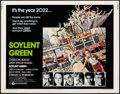 """Movie Posters:Science Fiction, Soylent Green (MGM, 1973). Rolled, Very Fine-. Half Sheet (22"""" X 28""""). John Solie Artwork. Science Fiction.. ..."""