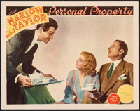 """Personal Property (MGM, 1937). Fine- on Paper. Lobby Card (11"""" X 14""""). Romance"""