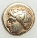 Ancients:Greek, IONIA. Phocaea. Ca. 387-326 BC. EL sixth stater or hecte (...