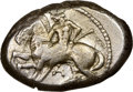 Ancients:Greek, CILICIA. Celenderis. Ca. 425-350 BC. AR stater (22mm, 11h)...