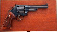Cased Smith & Wesson Model 27-2 Double Action Revolver