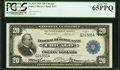 Fr. 824 $20 1915 Federal Reserve Bank Note PCGS Gem New 65PPQ