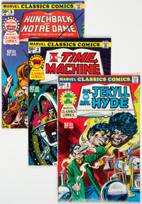 Marvel Classics Comics #1-36 Complete Series Group (Marvel, 1976-78) Condition: Average VF.... (Total: 37 Comic Books)