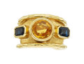 Estate Jewelry:Rings, Sapphire, Gold Ring, Jean Mahie. ...