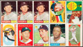 Baseball Cards:Lots, 1960-61 Topps and Fleer Baseball Collection (45) With Two Signed 1960 Topps Cards. ...