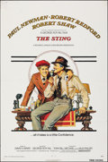 "Movie Posters:Crime, The Sting (Universal, 1973). Folded, Fine+. One Sheet (27"" X 41"") Richard Amsel Artwork. Crime.. ..."