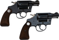 Lot of Two Colt Double Action Revolvers. ... (Total: 2 Items)
