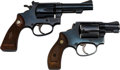 Handguns:Double Action Revolver, Lot of Two Smith & Wesson Double Action Revolvers.. ... (Total: 2 Items)