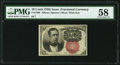 Fractional Currency:Fifth Issue, Fr. 1266 10¢ Fifth Issue PMG Choice About Unc 58.. ...