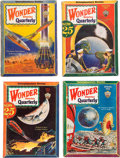 Pulps:Science Fiction, Wonder Stories Box Lot (Standard, 1929-32) Condition: Average FN-....