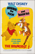 """Movie Posters:Animation, Winnie the Pooh and Tigger Too! (Buena Vista, 1974). Folded, Very Fine. One Sheet (27"""" X 41""""). Animation.. ..."""