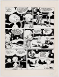 Original Comic Art:Panel Pages, Wally Wood Lunar Tunes (Bucky Ruckus) Unnumbered Panel Page Original Art (1981). ...