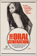 "Movie Posters:Adult, The Oral Generation & Other Lot (Family Studies Institute, 1970). Folded, Fine/Very Fine. One Sheets (2) (27"" X 41""). Adult.... (Total: 2 Items)"