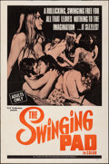 """Movie Posters:Adult, Eleana (AFDC, 1969). Folded, Fine/Very Fine. One Sheet (27"""" X 41"""") Alternate Title: The Swinging Pad. Adult.. ..."""