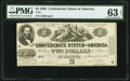 Confederate Notes:1862 Issues, T42 $2 1862 PF-5 Cr. 337 PCGS Choice Uncirculated 63 EPQ.. ...