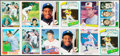Baseball Cards:Lots, 1980-1990 Topps, Donruss, Fleer and Upper Deck Baseball Rookie Collection (61)....
