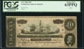 Confederate Notes:1864 Issues, T67 $20 1864 PF-13 Cr. 513 PCGS Choice New 63PPQ.. ...