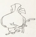 Animation Art:Production Drawing, Dr. Seuss' How the Grinch Stole Christmas
