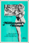 """Movie Posters:Adult, Millionaire's Women & Other Lot (1969). Folded, Fine/Very Fine. One Sheets (2) (28"""" X 42"""" & 27"""" X 41""""). Adult.. ... (Total: 2 Items)"""