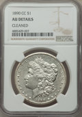1890-CC $1 -- Cleaned -- NGC Details. AU. NGC Census: (104/5911). PCGS Population: (190/11553). CDN: $200 Whsle. Bid for...