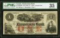 Canada Elgin, CW- Zimmerman Bank $1 ND (1856) Ch.# 815-12-02-02R Remainder PMG Choice Very Fine 35