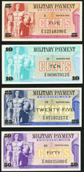 Military Payment Certificates:Series 692, Series 692 5¢; 10¢; 25¢; 50¢ Choice New or Better.. ... (Total: 4 items)