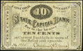 Obsoletes By State:New Hampshire, Concord, NH- Phenix Hotel / Corning & Dumas at State Capital Bank 10¢ Nov. 1, 1862 Fine-Very Fine.. ...