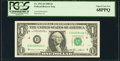 Repeater 94020402 Fr. 1913-D $1 1985 Federal Reserve Note. PCGS Superb Gem New 68PPQ