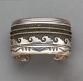 American Indian Art:Jewelry and Silverwork, A Navajo Cuff Bracelet...