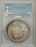 1878-CC $1 MS64+ PCGS. PCGS Population: (7526/2569 and 279/134+). NGC Census: (4875/1439 and 83/25+). CDN: $415 Whsle. B...