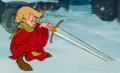 Animation Art:Production Cel, The Sword in the Stone Young Wart Production Cel (Walt Disney, 1963). ...