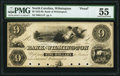 Obsoletes By State:North Carolina, Wilmington, NC - The Bank of Wilmington $9 18__ G11P Proof PMG About Uncirculated 55 6 POCs.. ...