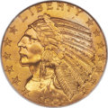 Proof Indian Half Eagles, 1909 $5 PR66 NGC. CAC. JD-1, R.5....
