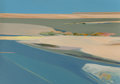 Paintings, James Conaway (American, b. 1932). Baja Landscape, 1982. Oil on canvas. 49-1/2 x 70-1/2 inches (125.7 x 179.1 cm). Signe...