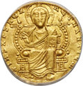 Ancients:Byzantine, Leo VI the Wise (AD 886-912), with Constantine VII. AV sol...