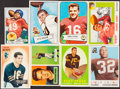 Football Cards:Lots, 1951-1964 Topps, Fleer and Bowman Football Collection (24). ...