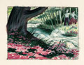 Animation Art:Painted cel background, So Dear to My Heart Color Key Background Painting (Walt Disney, 1949)....