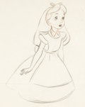 Animation Art:Production Drawing, Alice in Wonderland Animation Drawing by Marc Davis (Walt Disney, 1951)....