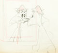 Animation Art:Production Drawing, Mouse Wreckers Claude Cat Animation Drawing by Chuck Jones (Warner Brothers, 1949)....