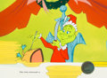 Animation Art:Production Cel, Dr. Seuss' How the Grinch Stole Christmas Blue-Eyed Grinch Production Cel (MGM, 1966). ...