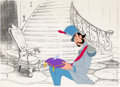 Animation Art:Production Cel, Cinderella Grand Duke and Glass Slipper Production Cel (Walt Disney, 1950)....