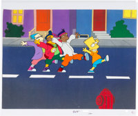 "The Simpsons ""Do the Bartman"" Production Cel (Fox, 1991)"