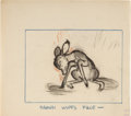 Animation Art:Concept Art, Bambi Layout/Character Development Original Art by Marc Davis (Walt Disney, 1942)....