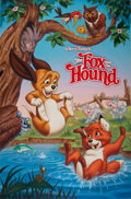 Animation Art:Production Drawing, The Fox and the Hound Re-Release Poster/VHS Box Art Illustration (Walt Disney, 1988)....