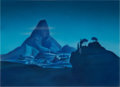 Animation Art:Painted cel background, Fantasia/Disneyland Production Background (Walt Disney, 1958)....