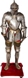 Militaria:Armor, Fine Suit of Armor in the 17th Century Style.. ...